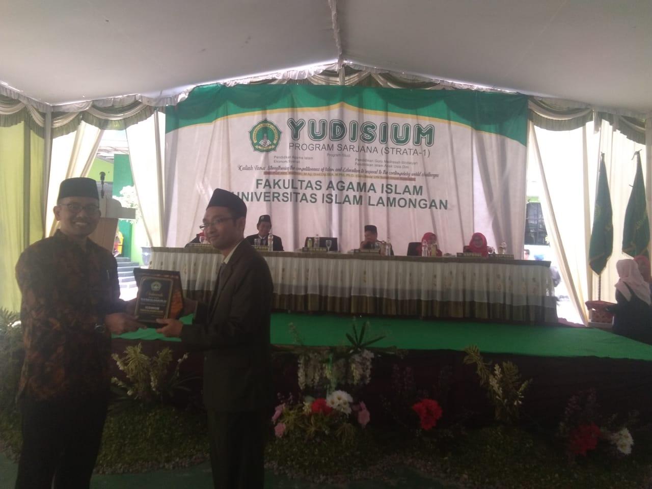 Ini harapan Prof. Muzakki untuk Alumni  FAI UNISLA